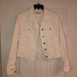 Gap 1989 Women's White Jean Jacket